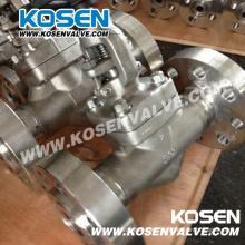 Válvulas de globo con extremos bridados de acero inoxidable forjado (J41)