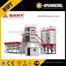 Planta de lote móvil de hormigón SANY HZS60 serie F8