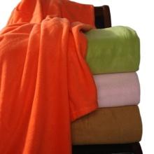 Flame Retardant promotional100 polyester polar fleece blanket manufacturer