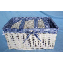 Handmade Eco Wicker Storage Basket (BC-ST1008)