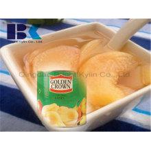 Super Delicious barato amarelo pêssego em calda