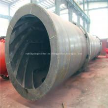 Planta de secado de tambor para arena de aserrín de carbón NPK