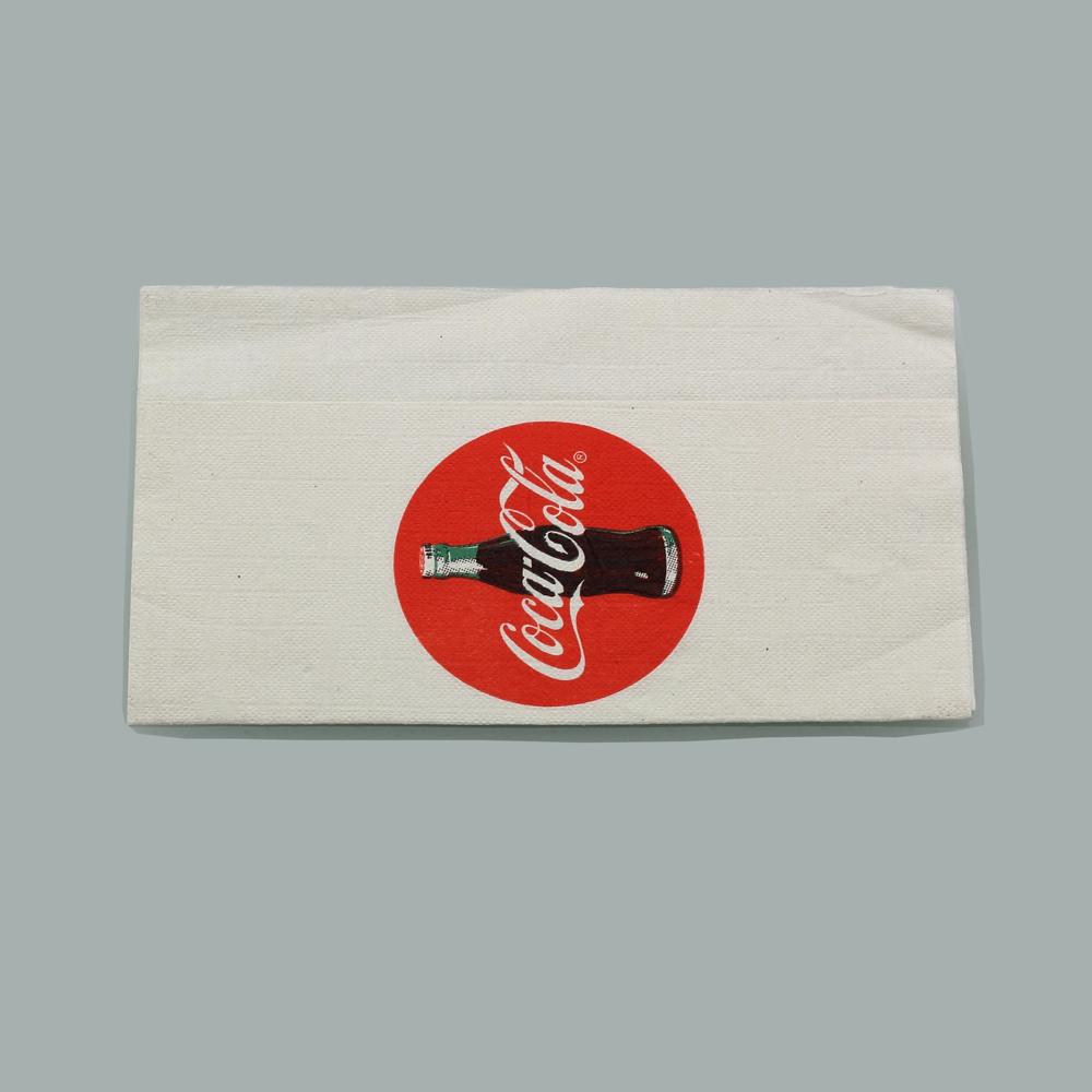 Cola Napkin