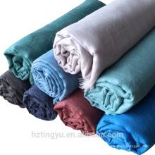 Зимний теплый последние мода хиджаб шаль шарф женщин простой кисточки мусульманский шарф хиджаб