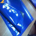 Lonas de toldo de vinilo personalizadas con anillos en D