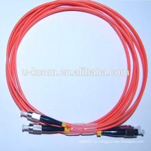 FC-FC MM Duplex Fibra Óptica Patch Cable