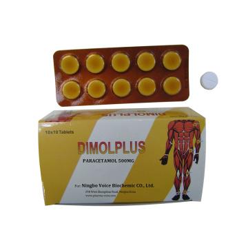 GMP Paracetamol Tablet 500mg for sale