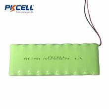 Personalice la batería de 12V AA2000mah nimh para uso industrial