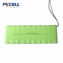 Personalize 12V AA2000mah nimh bateria para uso industrial