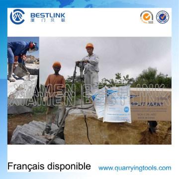 High Range Hsca Cracking Agent & Cracking Powder for Granite Block