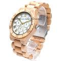Beste Holz Chronograph Uhr Multifunktionale Holz Chrono Uhren für Männer