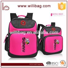 Nylon multicolor abelha Animal novo Design School Bag para criança