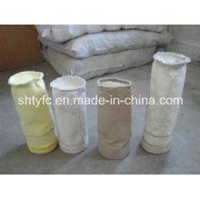 Bolsa de filtro de fibra de vidrio para el colector de polvo