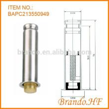 Válvula Solenóide de Jato de Pulso do Coletor de Saco de Pó Tubo de Armadura de Aço Inoxidável para AC e DC