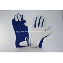 Свинья Кожаные Перчатки-Вес Lifiting Перчатки-Защитные Перчатки-Рабочие Перчатки Дешевые Перчатки