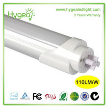 O tubo quente do jizz das vendas conduziu o diodo emissor de luz T8 do tubo conduziu a luz do tubo fluorescente garantia de 3 anos