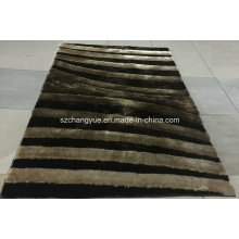 Polyester Modern Shaggy Rug with 3D Effects