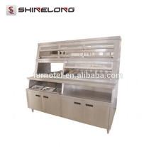 K283 Snak Equipment - Exhibidor de comida caliente de lujo