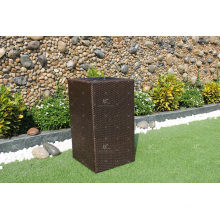 High Quality Patio PE Poly Rattan Planter with Cheap Price