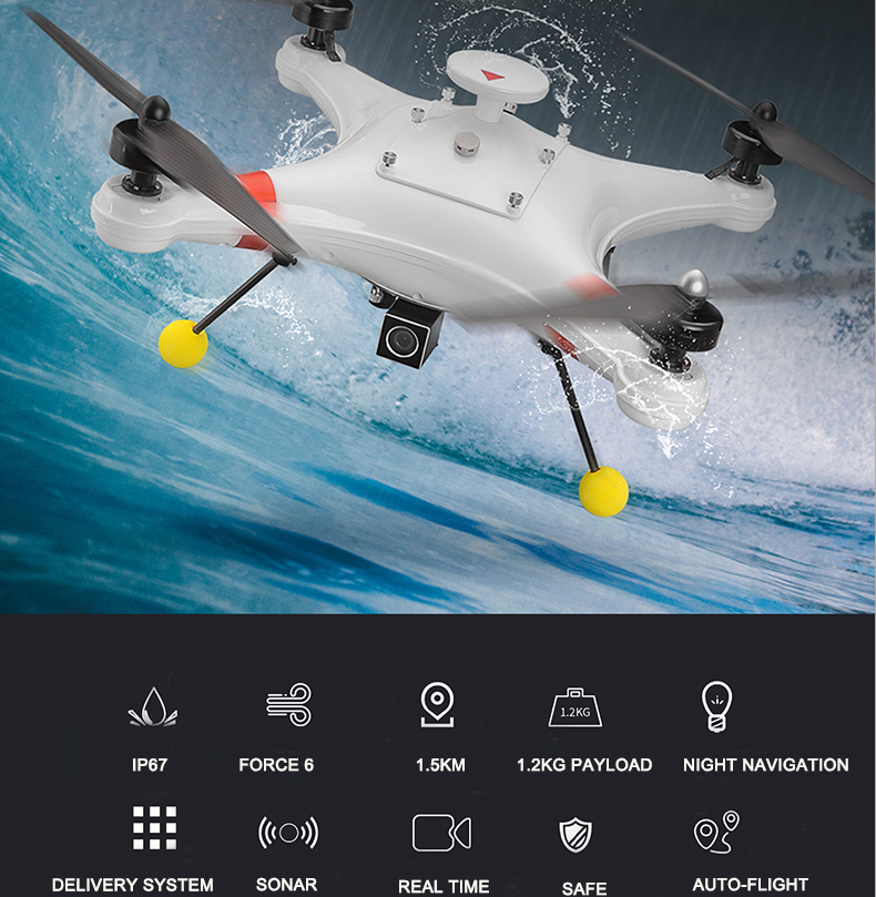 Fishing drone with release mechanism china manufacturer for Drone fishing line release