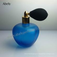 Botellas de perfume de marca de gama alta con Vintage Blue