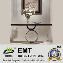 Mesa de consola del hotel de la manera del Flower-Stand del diseño creativo (EMT-CA28)