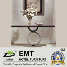 Creative Design Flower-Stand fashion Hotel Console Table (EMT-CA28)