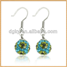 Earring 2014 Set With AAA Level Crystal ball earring