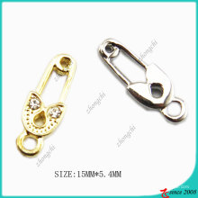 Jewelry accessories  Gold Tone Pin Charm