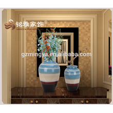 Top Quality Ceramic Desktop Statue Crafts Business Gift Antique Flower Vase for Home Decor