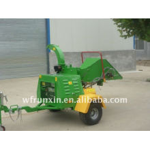 22hp self powered wood chipper with CE certificate