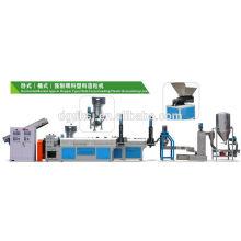 PE PP filme plástico reciclagem linha máquina DKSJ-160/140