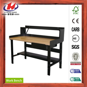 UV Painting Finger Joint Solid Wood Work Table
