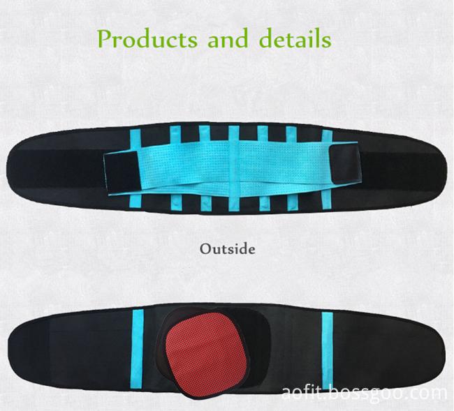 Fashion Neoprene Body Shaper Waist Slimming Belt