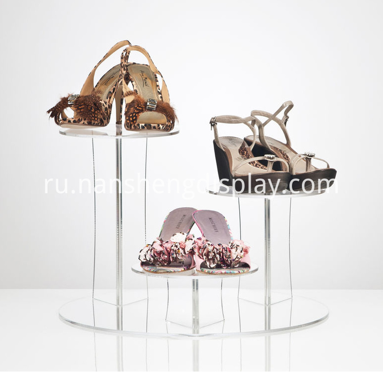 acrylic shoe holder