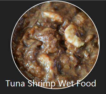 tuna shrimp wet food