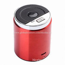 Mini Bluetooth TF + Line-in + BT + FM Stereo Sound Speaker with 180Hz-16kHz Frequency Response