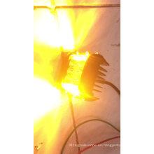 Luz de trabajo 2019 estroboscópica ámbar blanca LED 60W con tirador lateral de haz horizontal