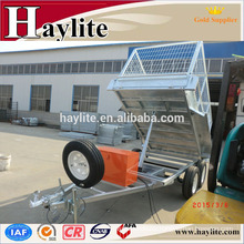 Tipping box Trailer with tipper function