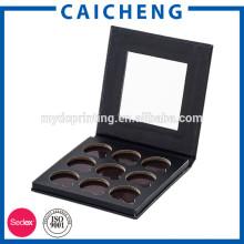 Custom Cardboard Empty Foldable Eyelash Box Packaging