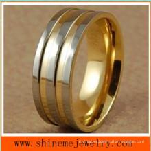 Shineme joyas de oro 18k anillo de titanio anillo de la joyería (TR1822)