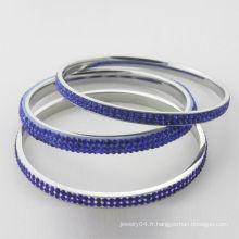 Bracelets en cristal de nouvelle arrivée, bracelets en cristal bleu de haute qualité pour femmes