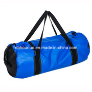 PVC Tarpaulin Waterproof Dry Bag with Hand Straps/PVC Beach Bag in Dark Blue