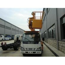 Sinotruk 4*2 Lifting Platform Truck Folding Arm Lift Truck