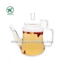 Clear Single Wall Glass Teapot por SGS (420ml)