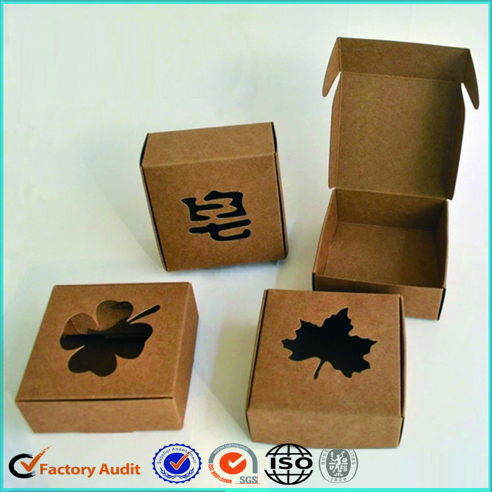 Kraft Paper Handmade Soap Packaging Box Printed