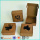 Kraft Paper Handmade Sabun Box Packaging Printed