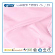 OEM Tela de seda rosa claro para el vestido
