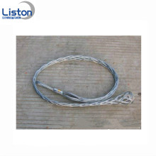 Double Eye Steel Wire Kabelstrumpor Cable Grip