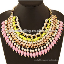 Hot selling latest handmade necklace bead necklace designs
